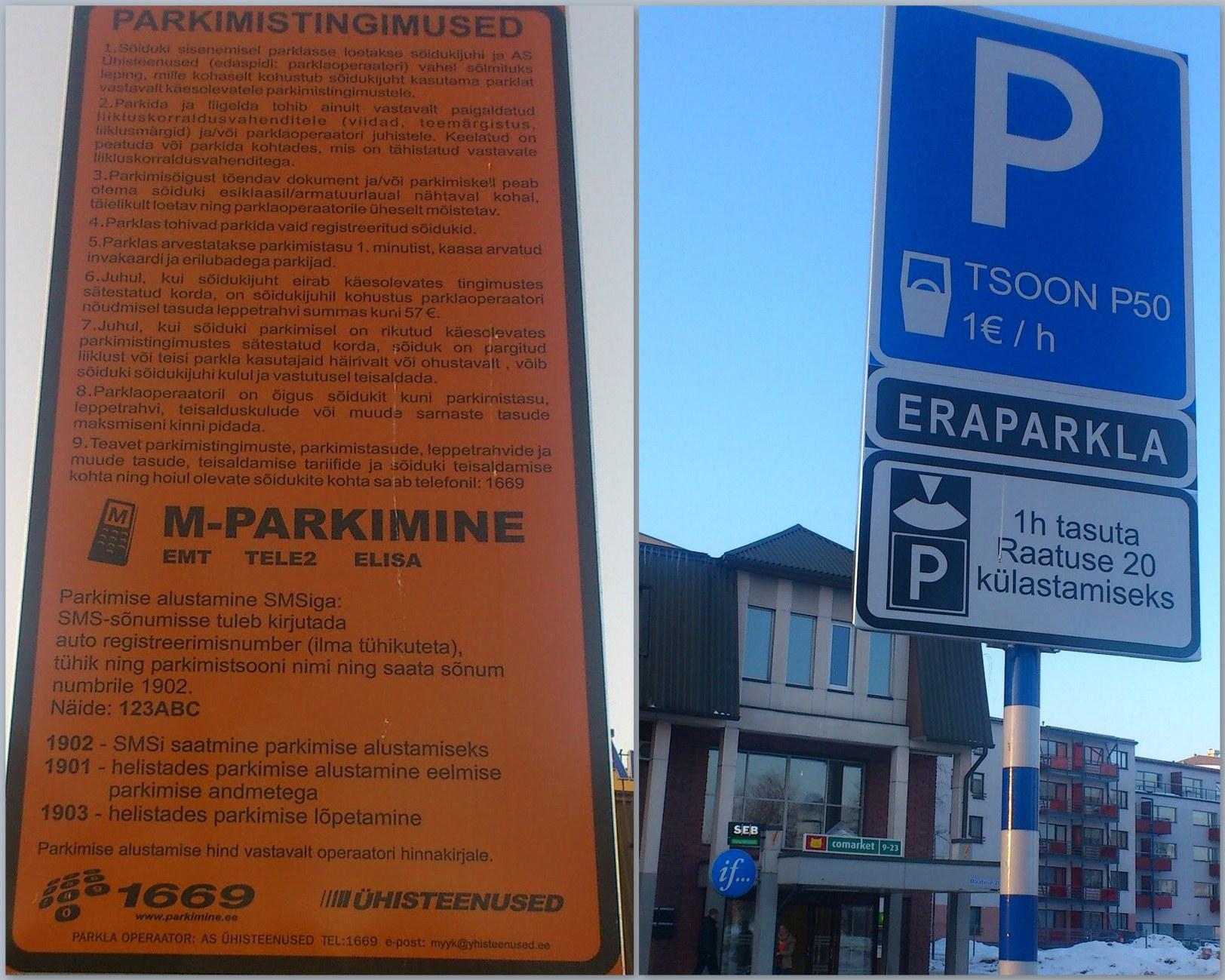 Raatuse 20 parkimine